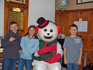 Payson, Ashleigh, Frosty and Jacub