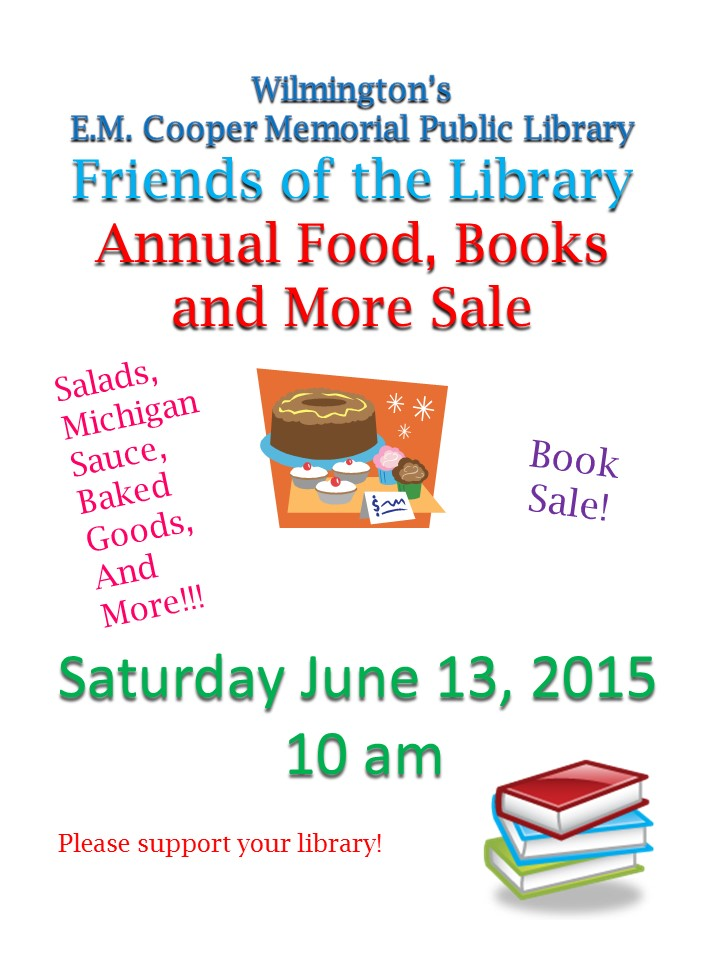2015 friends annual food and yard sale