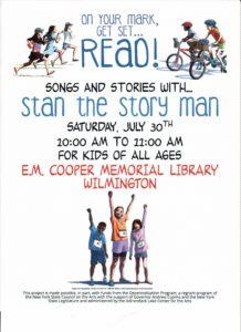 stan the reading man